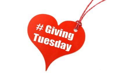 #givingtuesday – 3 décembre 2019