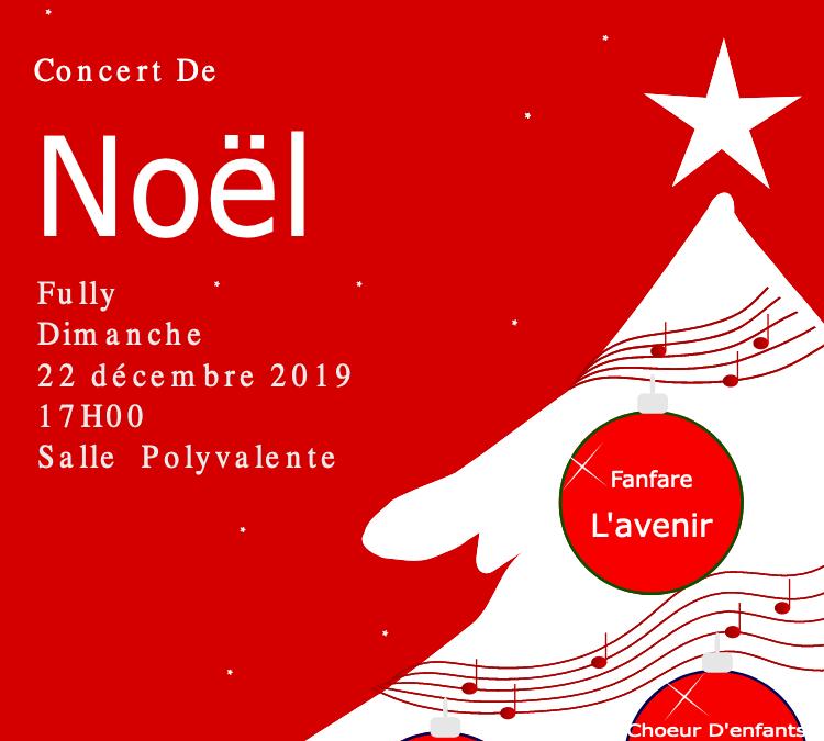 Concert de Noël à Fully en faveur de MaRaVal