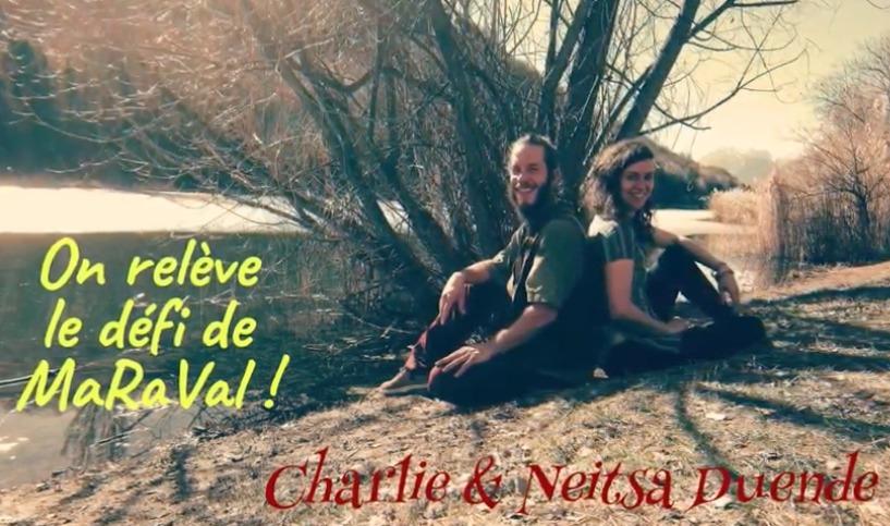 Bande-annonce : Neitsa Duende et Charlie Crettenand relèvent le défi de MaRaVal
