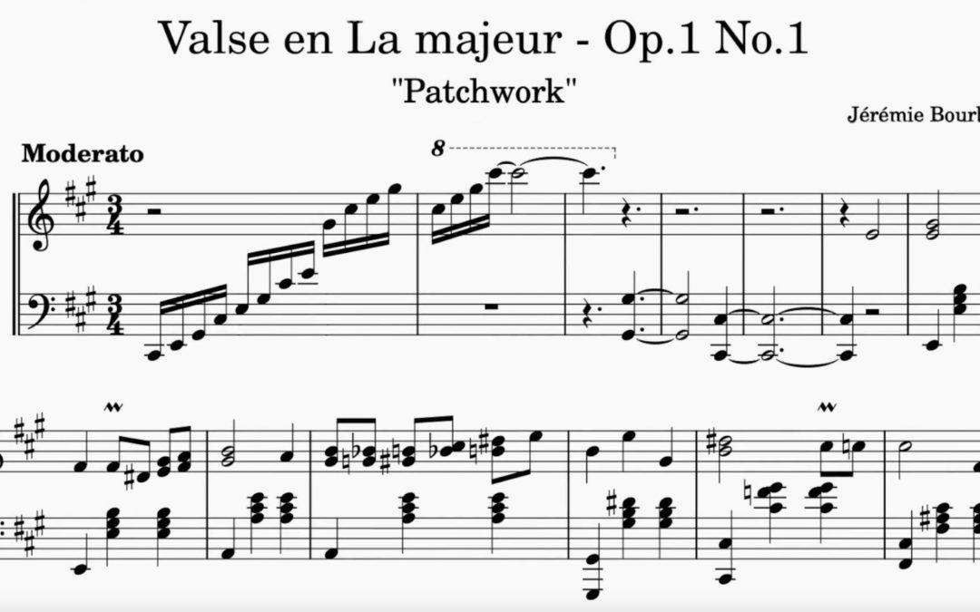"""""""Patchwork"""", par Jérémie Bourban, 16 ans"""